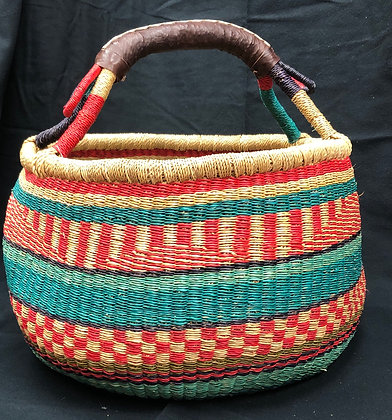 Large Round Grass Basket