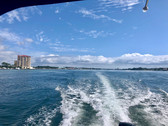 On our way to the Island