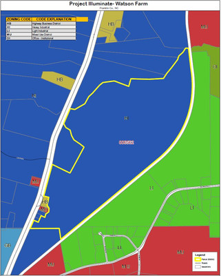 Simple Zoning Map