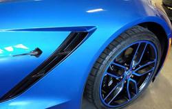 Blue Custom Wheels