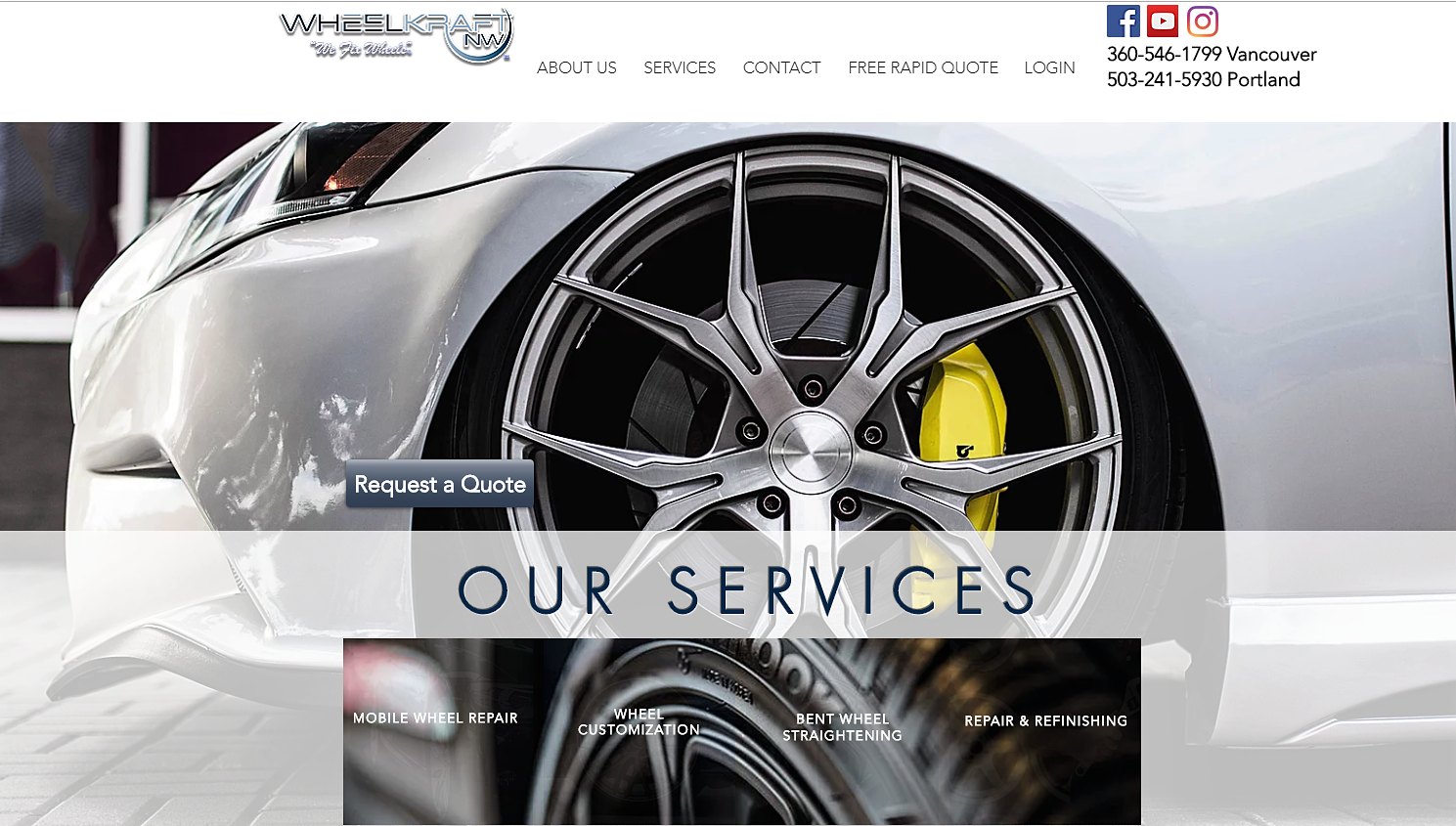 Wheelkraft NW Website