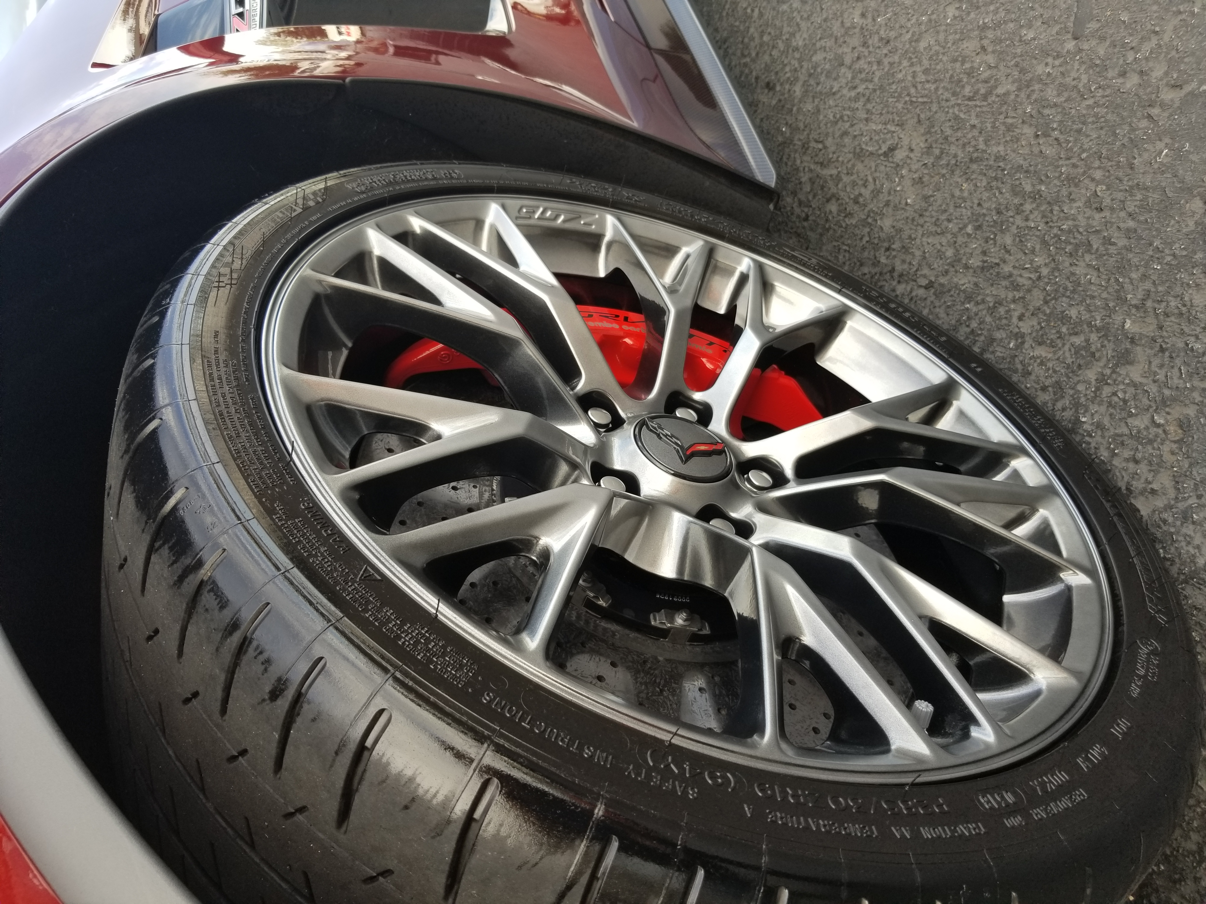 Corvette Z-06 Wheel