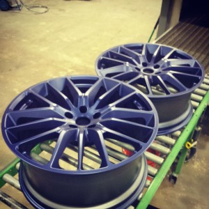 Blue Powder Coat