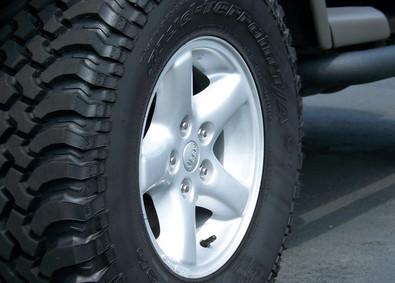 Jeep Wheel Refinish