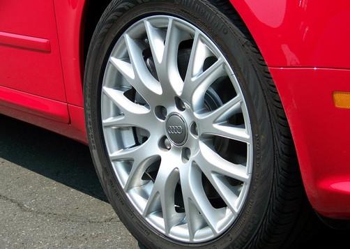 Audi Wheel Refinish