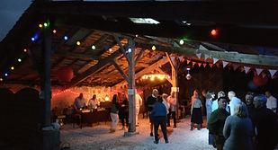 DJ disco party wedding birthday anniversary hire barn