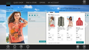 Next fashion retail app