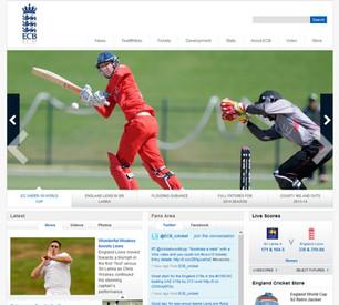 England Cricket Board website