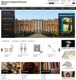 Historic Royal Palaces retail website