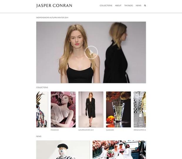 Jasper Conran fashion brand website