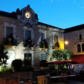 Night market at Villereal