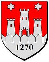 France Dordogne Eymet Cottages de Garrigue holiday accommodation eymet logo coat of arms