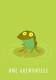 Cottages de Garrigue in partnership with Mark A Chambers: Une grenouille