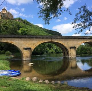 Castelnaud across the Dordogne river