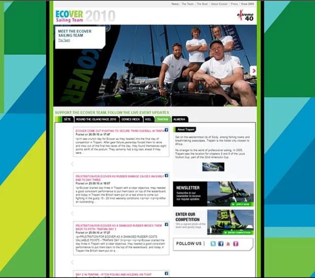 Ecover Extreme60 sponsorship