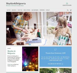 Grosvenor Estates London website