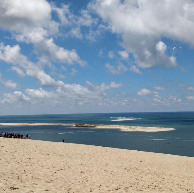 Atlantic coast at Dune du Pilat