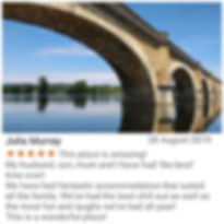 Cottages de Garrigue Google review