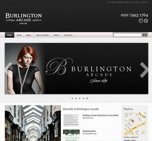 Burlington Arcade Piccadilly website