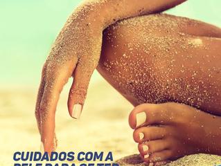 Cuidados com a pele para se ter na praia!