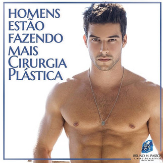 Homens x cirurgia plástica