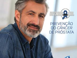 Novembro Azul - Combate ao Câncer de Próstata