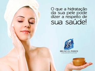 O que a hidratação da sua pele pode dizer a respeito de sua saúde