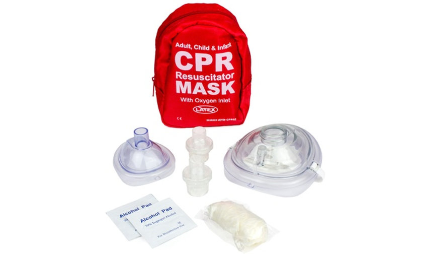 Adult, Child, Infant CPR Mask