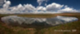 South Platte River reflection pano 2 70x