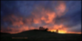 newer amazing sunset at greenland pano 5