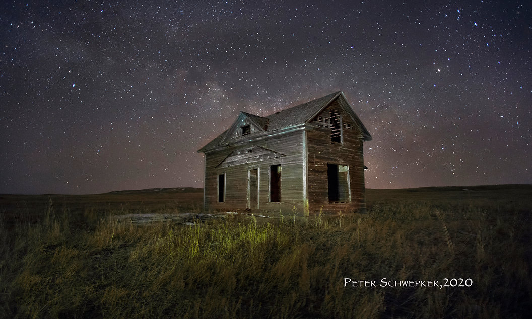 calhan homestead at night 2 50X30 b copy