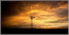 golden windmill sunset july 2017 for car