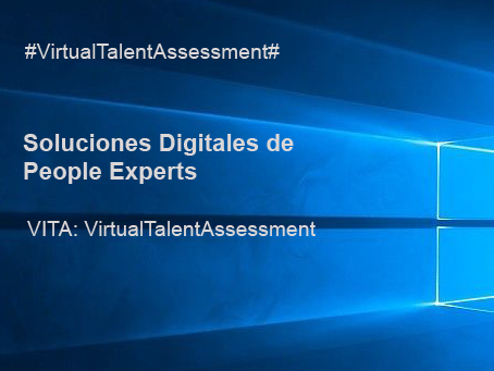 Soluciones Digitales PEOPLE EXPERTS- Virtual Talent Assessment