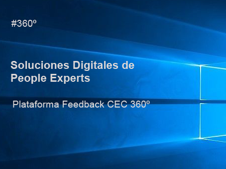 Soluciones Digitales PEOPLE EXPERTS- Feedback CEC 360º