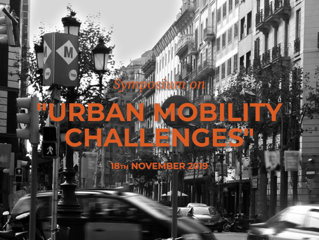 Aretian to present at the Urban Mobility Challenges Symposium - 2019