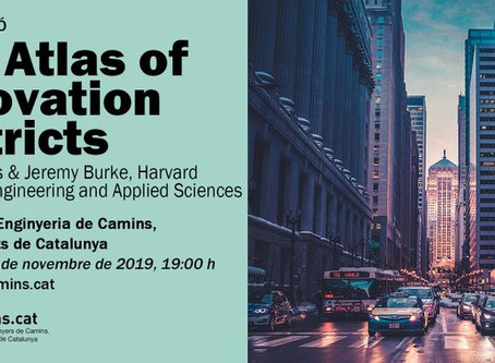 Harvard-Aretian to present the Atlas of Innovation Districts at Col·legi de Camins - Barcelona