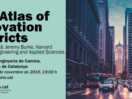 Harvard-Aretian to present the Atlas of Innovation Districts at Col·legi de Camins - Barcelona