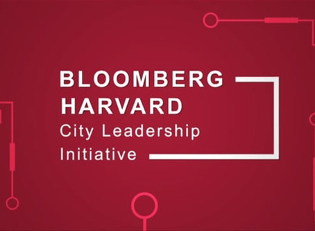 Aretian presents at the Bloomberg Harvard City Leadership Initiative