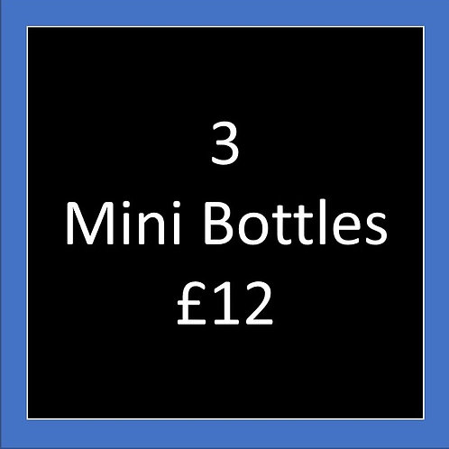 3 Rum & Gin £12