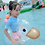 Thumbnail: Transparent Duck Swimming Float