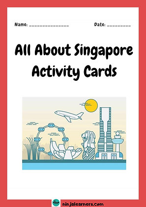 All About Singapore Activity Cards