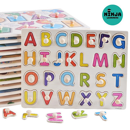 Alphabet Wooden Board Puzzle