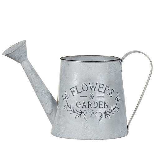 'Flowers and Garden' Watering Can Planter