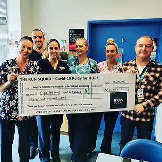 Covid - 19, Charity Relay, Donate, Sydney Children's Hospital