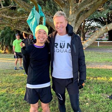 Coach and the legendary Kieth Hong