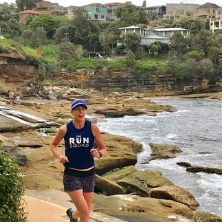 Sam runs the coast