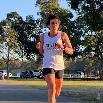 Narrowneck Night Race Winner Sara Rathborne