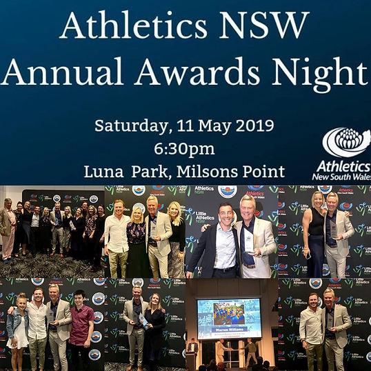 Coach of the Year, Athletics NSW, Recreational Running Coach of the Year, Recreational Running, Run Coach, Sydney Running Coach