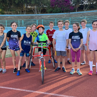 Juniors on Track