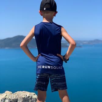 Thomas running Hamilton Island